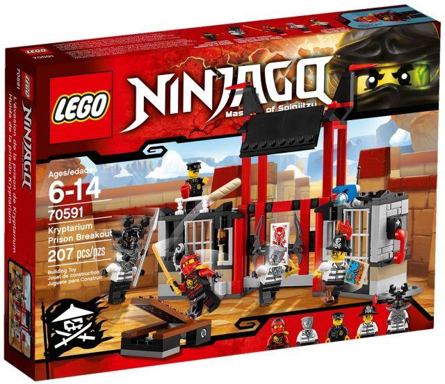 Lego-Ninjago,Evadarea din inchisoarea Kryptarium