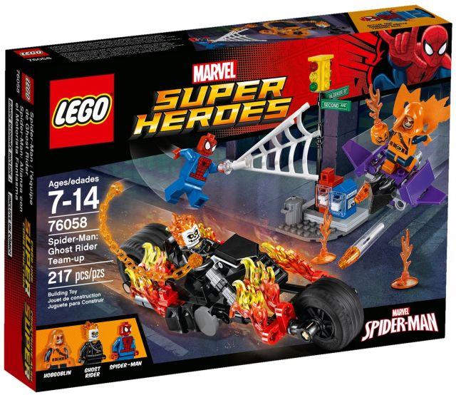 Lego-Super Heroes,Omul Paianjen,Alaturarea fortelor Calaretului fantoma