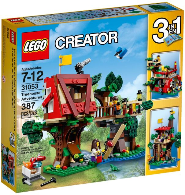 Lego-Creator,Aventuri in casuta din copac