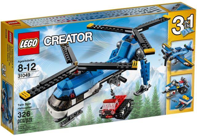 Lego-Creator,Elicopter cu rotor dublu