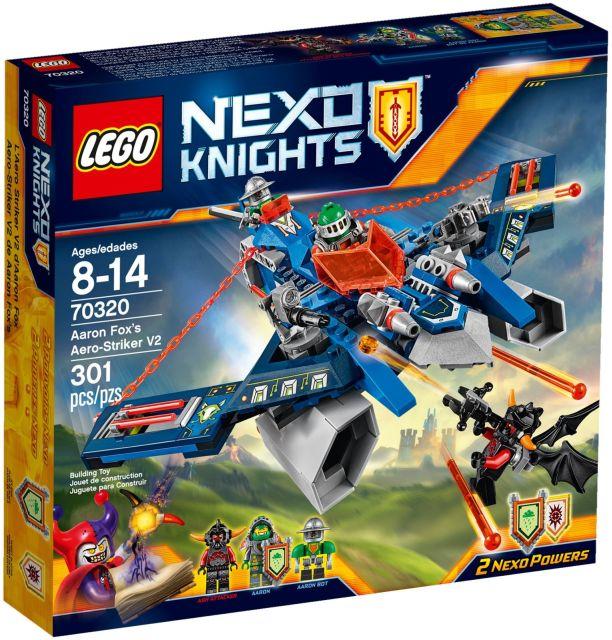 Lego-Nexo Knights,Nava Aero Striker V2 a lui Aaron