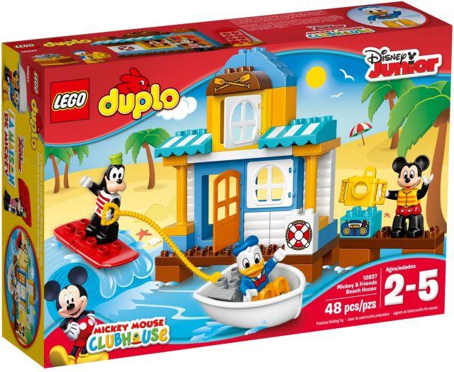 Lego-Duplo,Casa de pe plaja a lui Mickey si prietenii