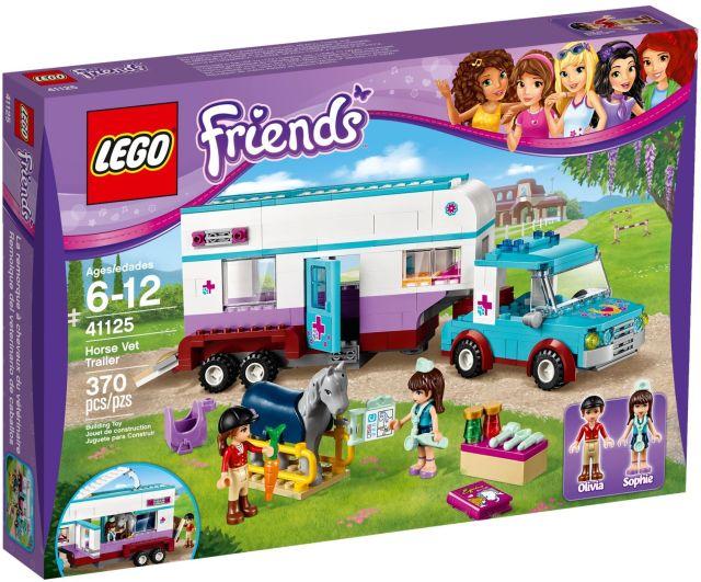 Lego-Friends,Rulota veterinara pentru cai