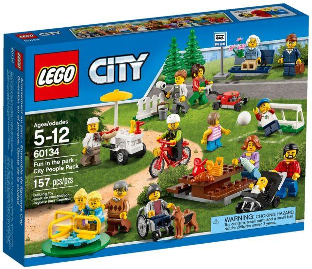 Lego-City,Distractie In parc,Oamenii orasului