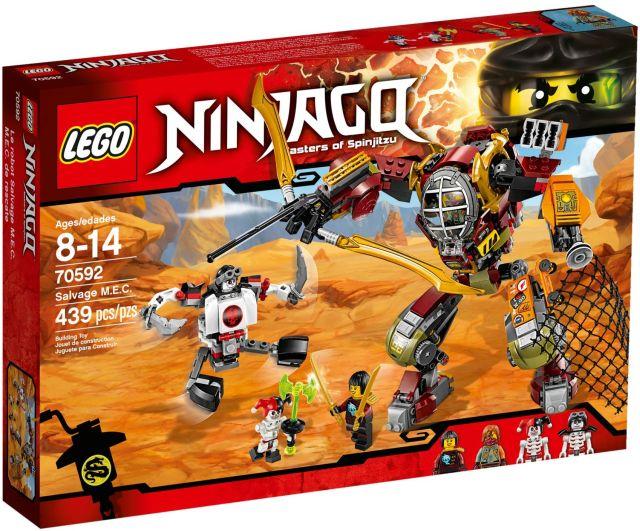 Lego-Ninjago,Vanator de recompense