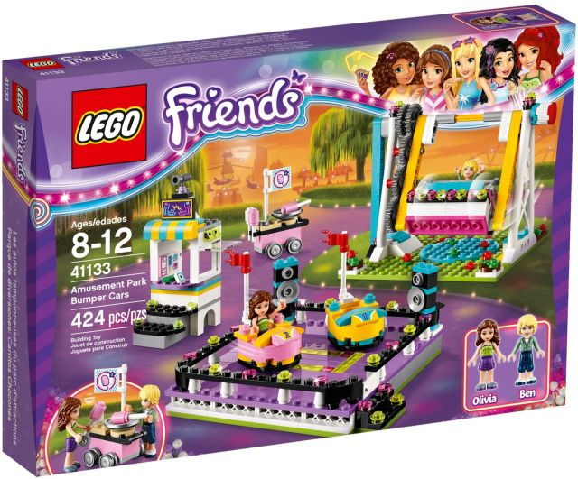 Lego-Friends,Masinute electrice In parcul de distractii