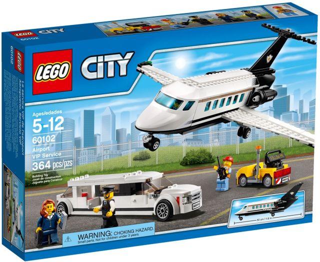 Lego-City,Servicii VIP pe aeroport