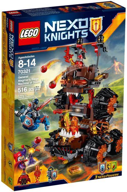 Lego-Nexo Knights,Maina de asediu a generalului Magmar