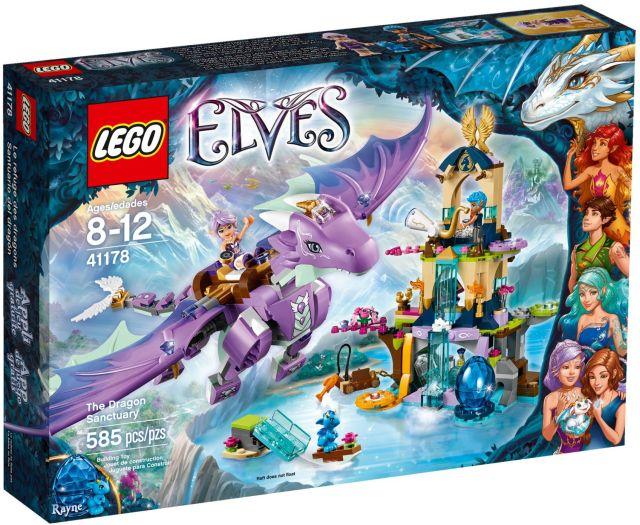 Lego-Elves,Sanctuarul dragonului
