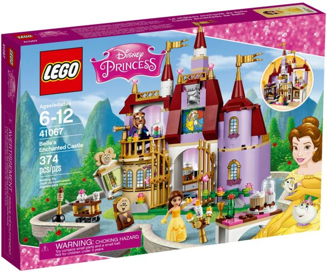 Lego-Disney Princess,Castelul fermecat al lui Belle