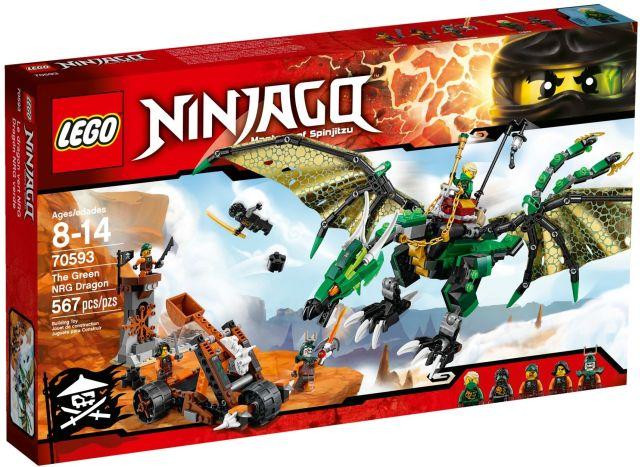 Lego-Ninjago,Dragonul verde NRG