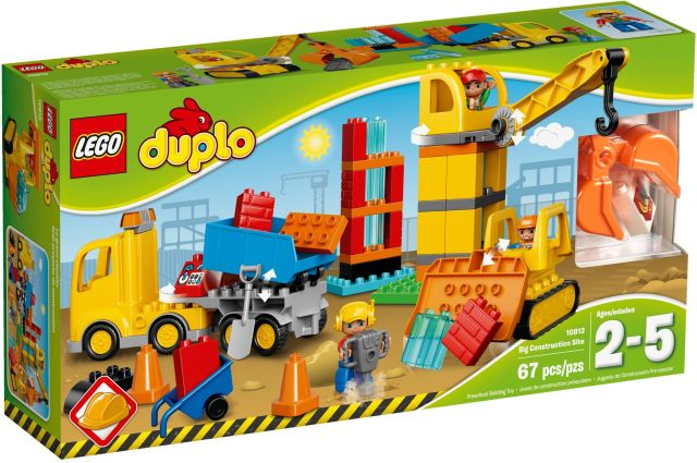 Lego-Duplo,Santier mare