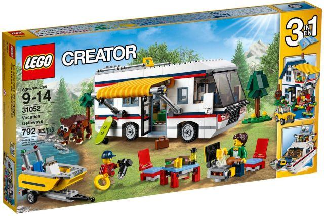 Lego-Creator,Destinatii de vacanta