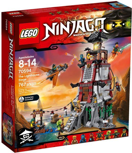 Lego-Ninjago,Asediul farului
