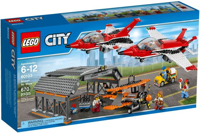 Lego-City,Parada de aviatie pe...
