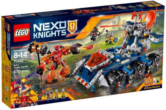 Lego-Nexo Knights,Transportorul lui Axl