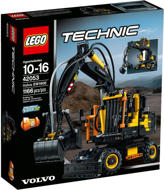 Lego-Tehnic,Volvo EW160E
