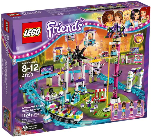 Lego-Friends,Montagne russe In parcul de distractii