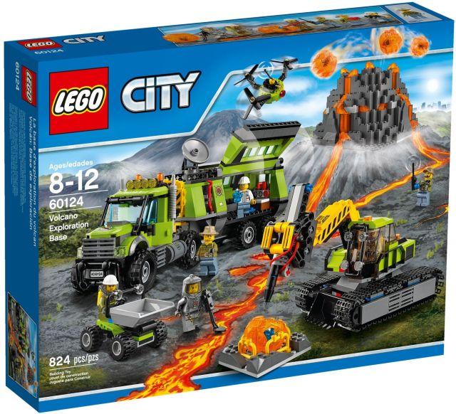 Lego-City,Baza de explorare a vulcanului
