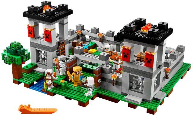 Lego-Minecraft,Fortareata