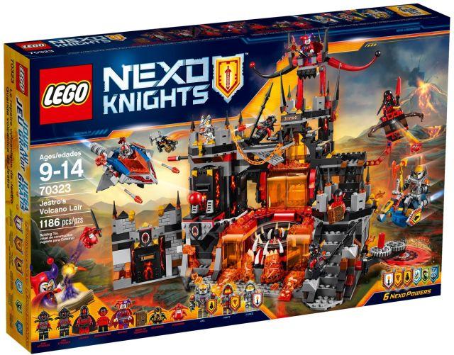 Lego-Nexo Knights,Adapostul malefic al lui Jestro