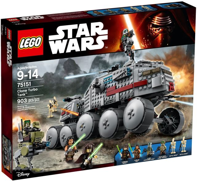 Lego-StarWars,Clone Turbo Tank