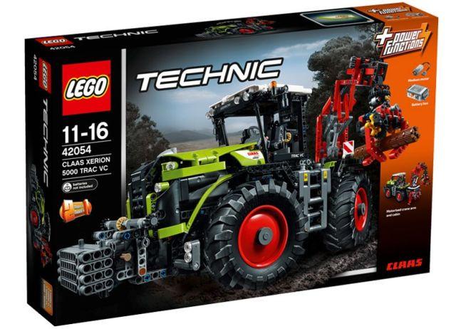 Lego-Tehnic,Class Xerion 5000...