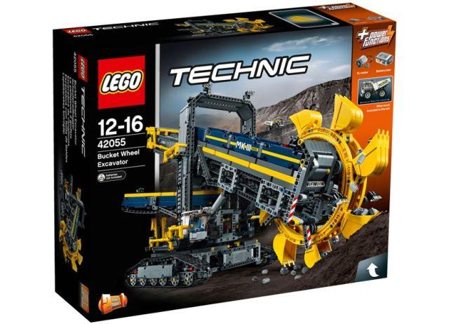 Lego-Tehnic,Excavator cu roata port cupe