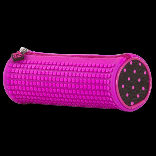 Penar rotund Pixie,negru/roz,100pcs pt pers.