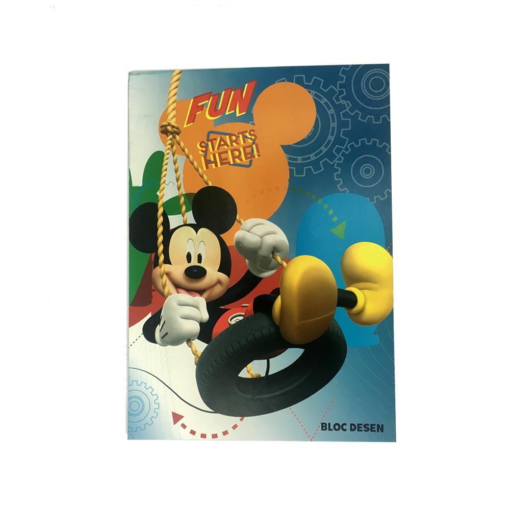 Bloc desen A4,16file,Mickey