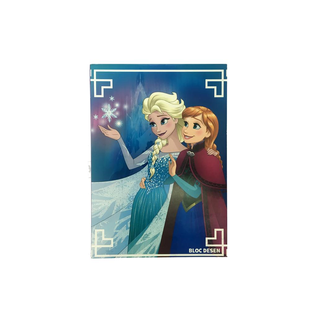 Bloc desen A4,16file,Frozen