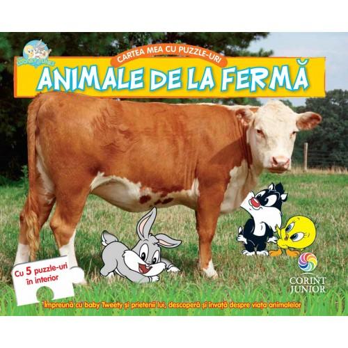 BABY LOONEY TUNES. CARTEA MEA CU PUZZLE-URI, ANIMALE DE LA FERMA