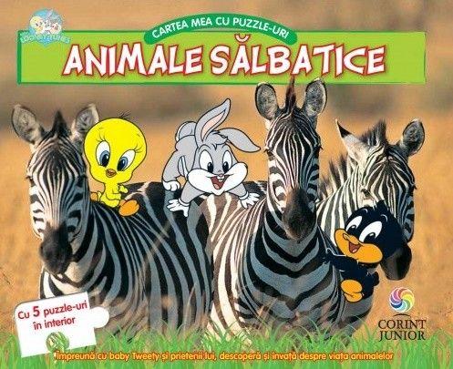 BABY LOONEY TUNES. CARTEA MEA CU PUZZLE-URI, ANIMALE SALBATICE