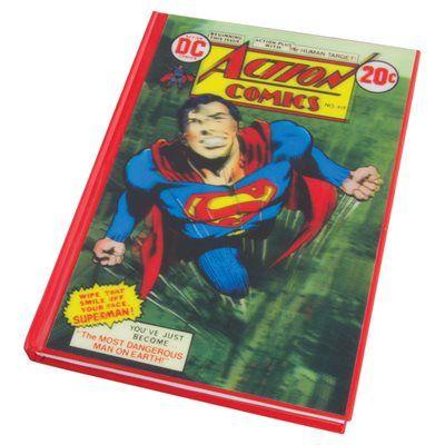 Caiet Superman 3D