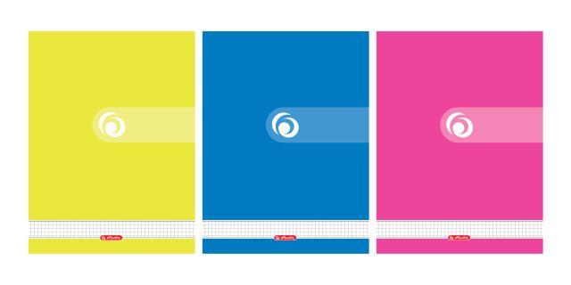 Caiet cu spira A4,70file,Rainbow,matematica