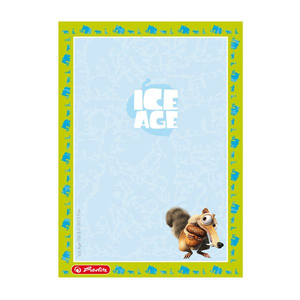 Blocnotes A6,50file,Ice Age