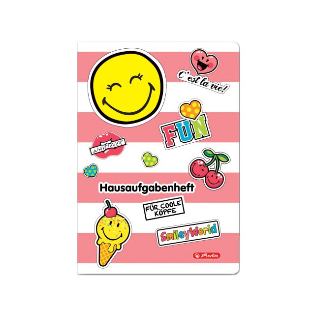 Caiet A5,48file,SmileyWorld Girly,velin