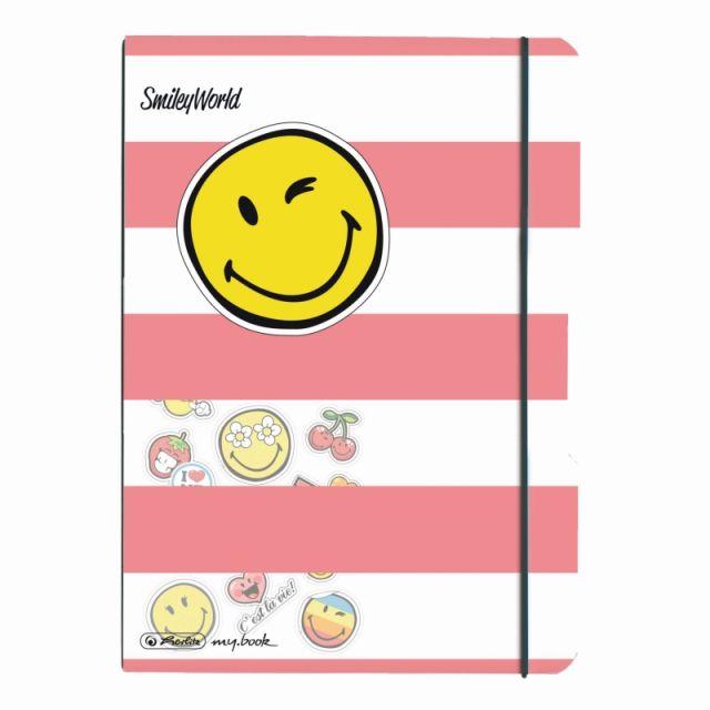 Caiet A5,My.Book Flex,40f,mate,SmileyWorld Girly
