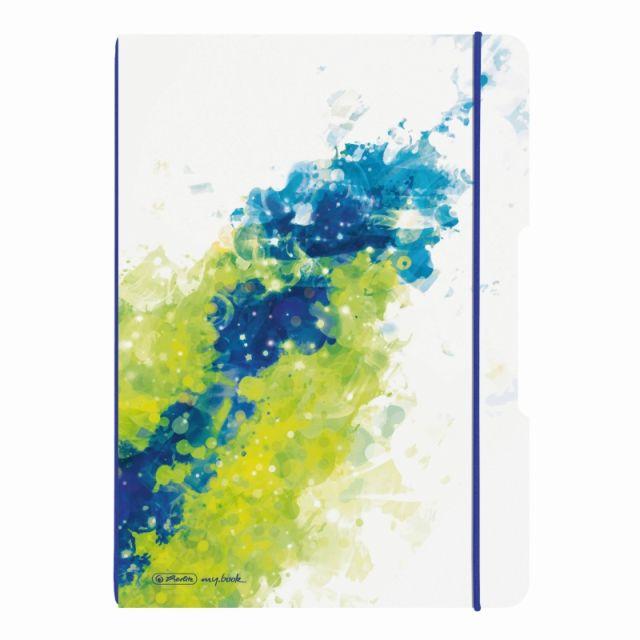Caiet A4,My.Book Flex,2x40f,d+m,Splash lemon