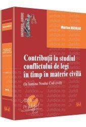 CONTRIBUTII LA STUDIUL CONFLICTULUI DE LEGI IN TIMP IN MATERIE CIVILA