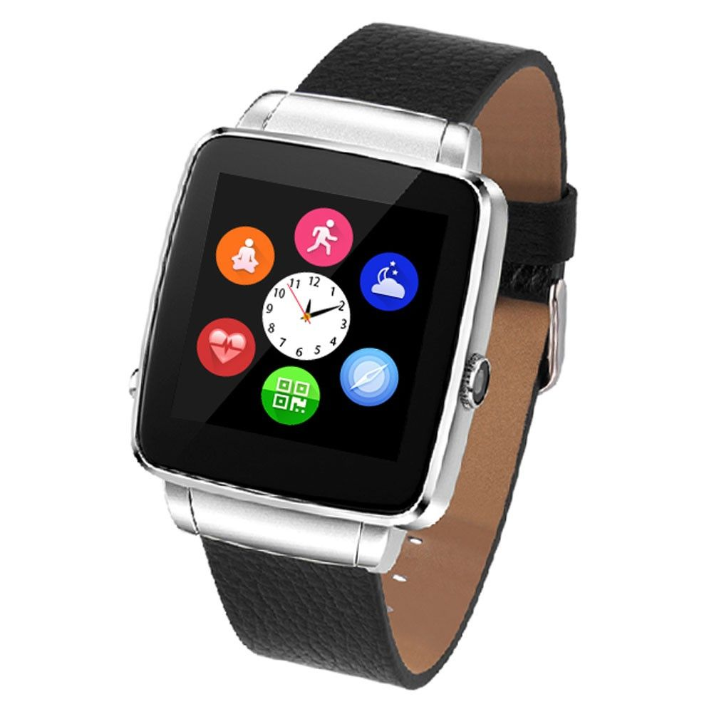 Ceas Smartwatch Poseidon X6 Silver