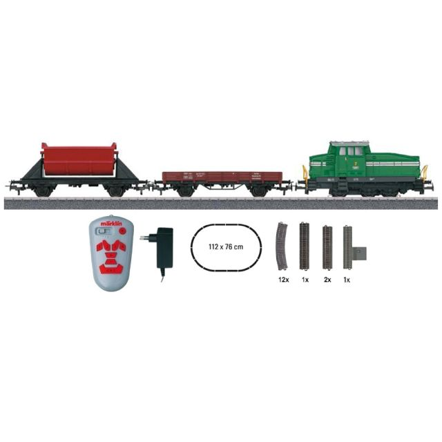 Start set digital cu locomotiva diesel DB, Epoca III-IV