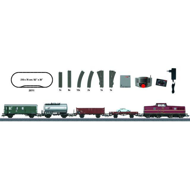 Start set digital cu locomotiva diesel BR V80, DB, Epoca III
