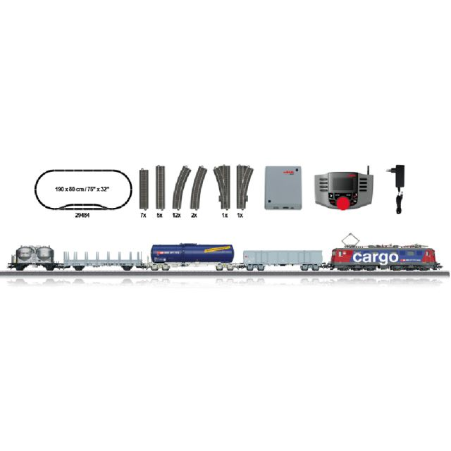 Start set digital cu locomotiva electrica Ae 610, SBB, Epoca VI