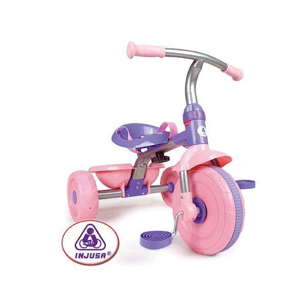 Tricicleta Injusa Trike Classic Pink