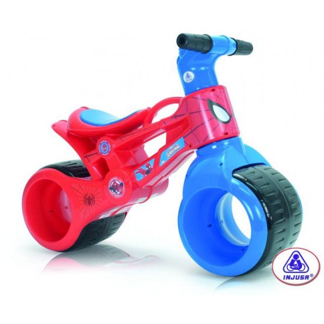 Bicicleta fara pedale Rayo Spiderman, Injusa