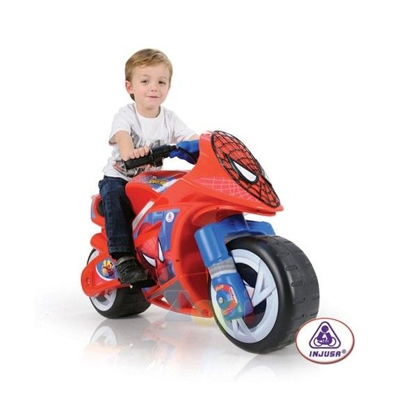 Motocicleta Wind Spiderman Sense