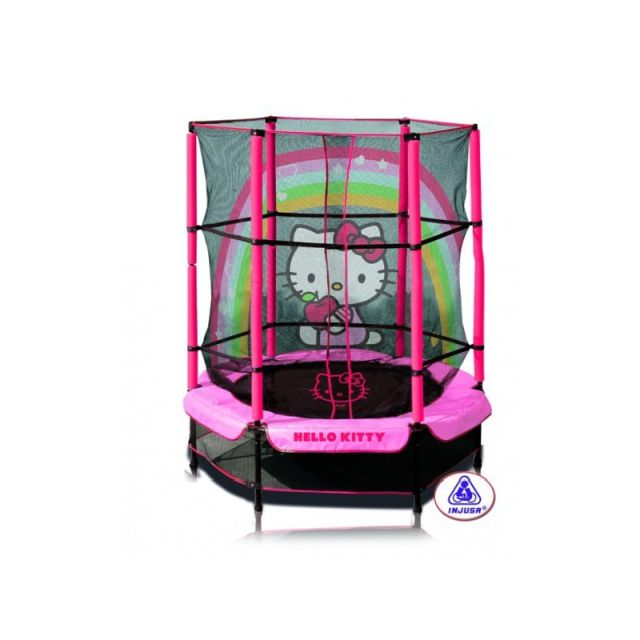 Trambulina copii 140 cm Hello Kitty