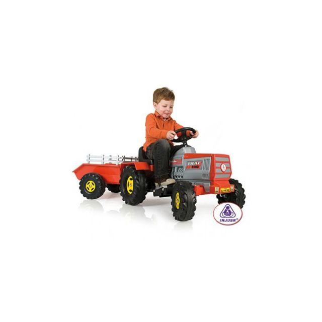 Tractor electric cu remorca,Injusa
