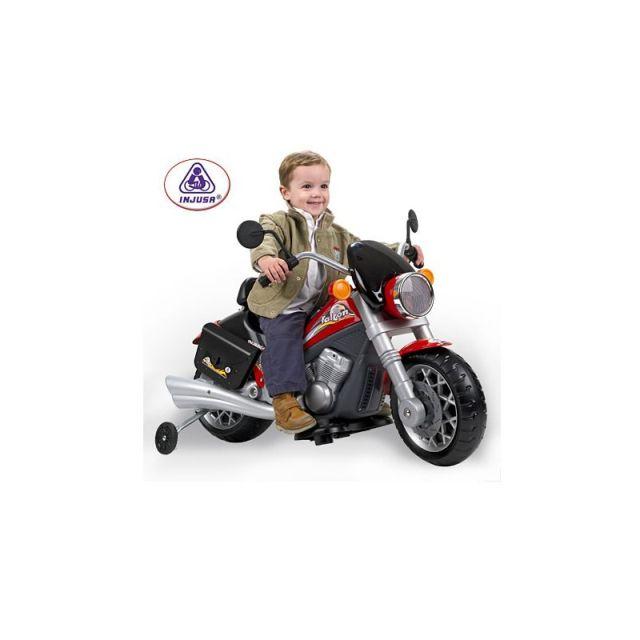 Motocicleta Falcon 6V,Injusa